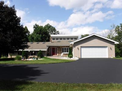 Waukesha County Single Family Home For Sale: N93w24619 Bark Rd