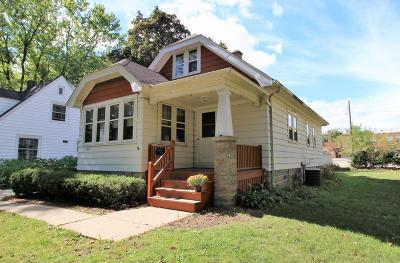 Hales Corners Single Family Home Active Contingent With Offer: 5825 S 112th St