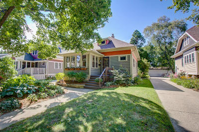 Whitefish Bay Single Family Home Active Contingent With Offer: 5139 N Woodruff Ave