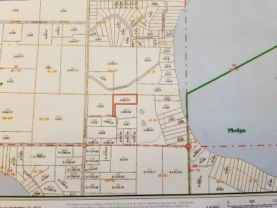 Conover WI Residential Lots & Land For Sale: $62,000