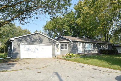 Menomonee Falls Single Family Home Active Contingent With Offer: W156n7275 Pilgrim Rd