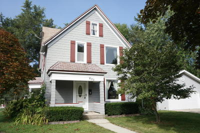 Ozaukee County Single Family Home For Sale: 603 N Milwaukee St