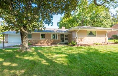Menomonee Falls Single Family Home Active Contingent With Offer: N87w15952 Kenwood Blvd