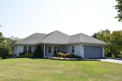 Menomonee Falls Single Family Home Active Contingent With Offer: W146n6126 Wigwam Dr