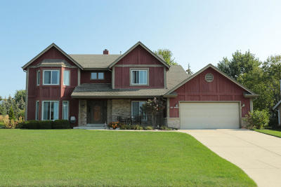 Menomonee Falls Single Family Home Active Contingent With Offer: N50w16962 Maple Crest Ln
