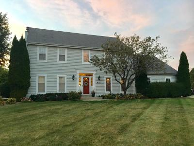Waukesha County Single Family Home For Sale: 970 Wild Rose Ct