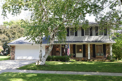 Cedarburg Single Family Home Active Contingent With Offer: W53n866 Castle Ct