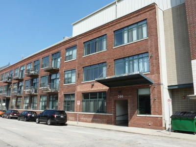 Milwaukee County Condo/Townhouse For Sale: 200 S Water St #110a