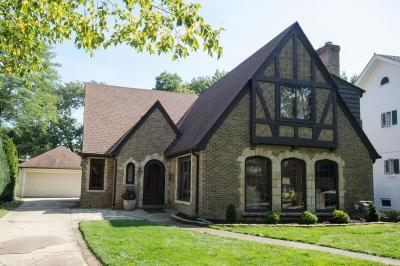 Milwaukee County Single Family Home For Sale: 4750 N Newhall St