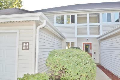 Oak Creek Condo/Townhouse Active Contingent With Offer: 841 W Puetz Rd #41