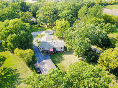 Racine County Single Family Home Active Contingent With Offer: 4155 Norwood Dr