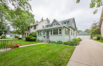 Wauwatosa Single Family Home For Sale: 5934 W Wisconsin Ave