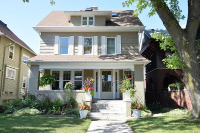 Milwaukee Single Family Home Active Contingent With Offer: 3031 N Prospect Ave
