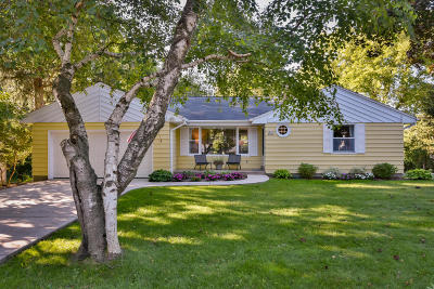 Ozaukee County Single Family Home Active Contingent With Offer: N69w5595 Bridge Rd