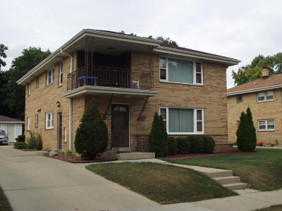 Milwaukee County Two Family Home For Sale: 3443 S 58th St #3445