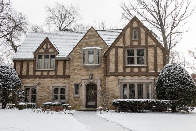 Whitefish Bay Single Family Home For Sale: 857 E Lake Forest Ave