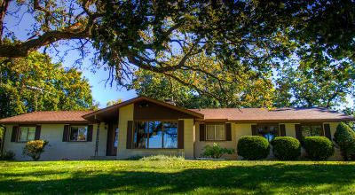 Single Family Home For Sale: W8060 Bluff Rd