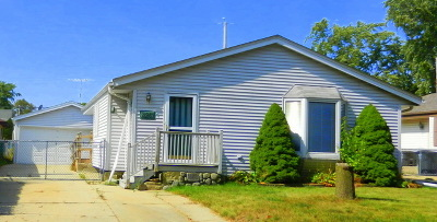 Greenfield Single Family Home For Sale: 4261 S 88th St