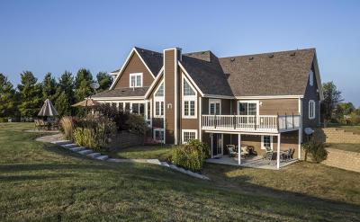 Campbellsport Single Family Home For Sale: N236 Lake Bernice Dr
