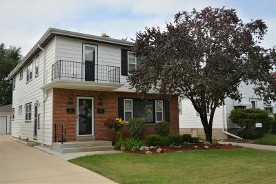 Milwaukee County Two Family Home For Sale: 2749 S 70th St #2751
