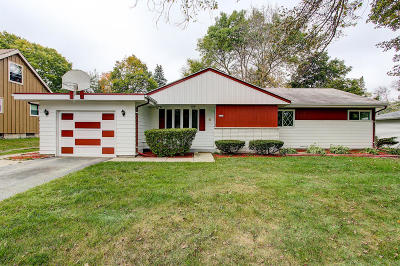 Milwaukee County Single Family Home For Sale: 8025 N 54th St