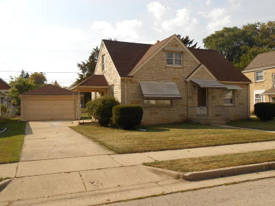 West Allis Single Family Home Active Contingent With Offer: 2451 S 83rd St