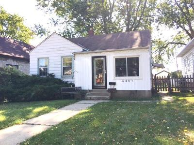 Milwaukee County Single Family Home For Sale: 6407 W Oconto Pl