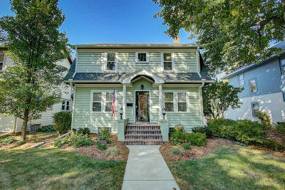 Whitefish Bay Single Family Home Active Contingent With Offer: 4859 N Newhall St