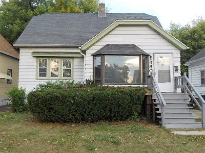 Milwaukee County Single Family Home For Sale: 4900 N 58th St
