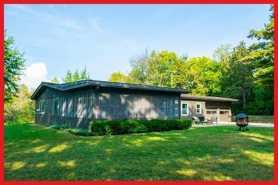 Lake Mills Single Family Home Active Contingent With Offer: N7115 N Shore Rd