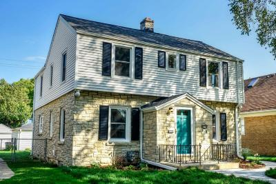 Milwaukee Single Family Home Active Contingent With Offer: 3228 S Logan Ave #3230