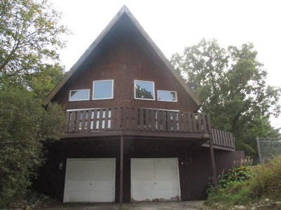 Single Family Home For Sale: W5755 North Dr