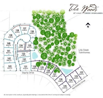 Residential Lots & Land Active Contingent With Offer: Lt128 Lilly Creek Highlands V