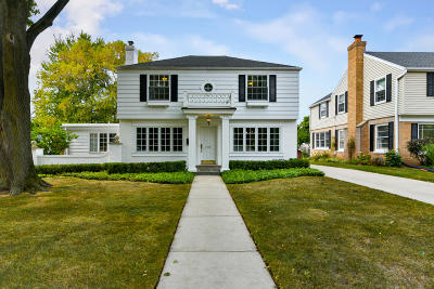 Whitefish Bay Single Family Home For Sale: 6209 N Lake Dr