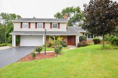 Brookfield Single Family Home For Sale: 2560 Memorial Dr