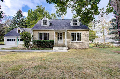 Waukesha County Single Family Home Active Contingent With Offer: 1713 S Parkview #AVE