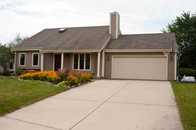 Menomonee Falls Single Family Home Active Contingent With Offer: N78w15461 Haymeadow Rd