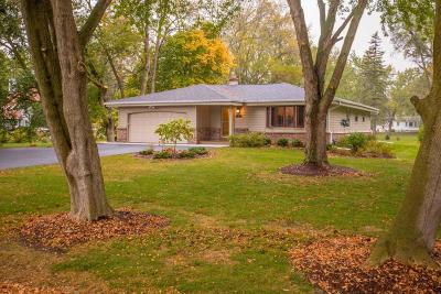 Mequon Single Family Home Active Contingent With Offer: 4814 W Willow Rd