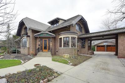 Shorewood Single Family Home Active Contingent With Offer: 3937 N Lake Dr