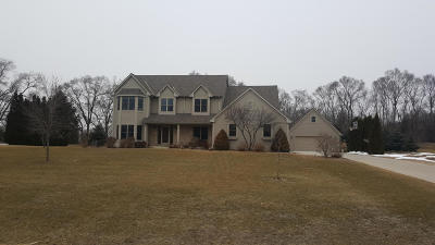 Racine County Single Family Home Active Contingent With Offer: 30810 Hunters Glen Rd