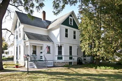 Cedarburg Single Family Home Active Contingent With Offer: N72w6512 Elm St
