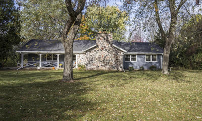 Ozaukee County Single Family Home Active Contingent With Offer: 10527 N Circle Rd