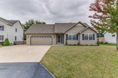 Racine Single Family Home Active Contingent With Offer: 2723 Frontier Dr