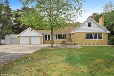 Kenosha County Single Family Home For Sale: 34320 98th St