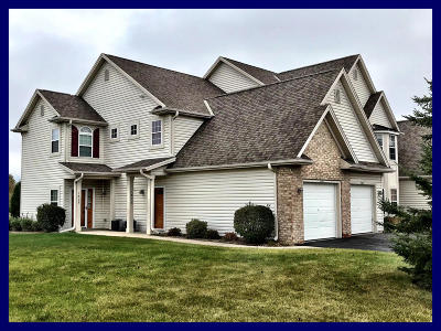 Slinger Condo/Townhouse Active Contingent With Offer: 1808 American Eagle Dr