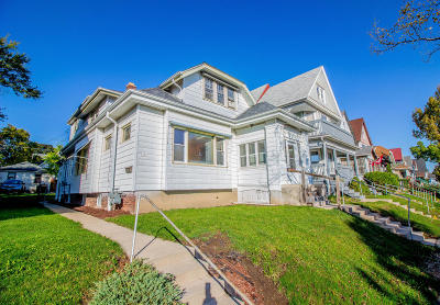 West Allis Two Family Home Active Contingent With Offer: 1549 S 73rd St #1551
