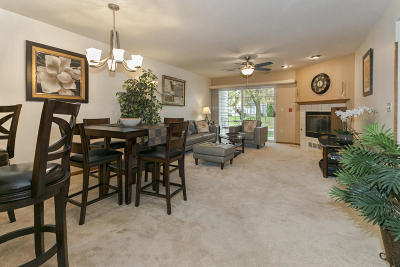 Waukesha County Condo/Townhouse For Sale: 174 Westfield Way #F