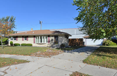 Racine Single Family Home For Sale: 704 Coronada Dr