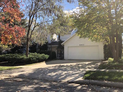 Kenosha Single Family Home For Sale: 5911 82nd Pl