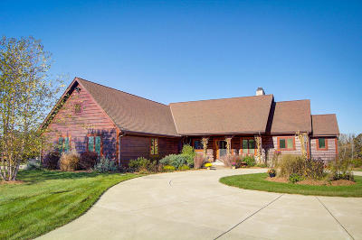 West Bend Single Family Home Active Contingent With Offer: 5859 County Road Y
